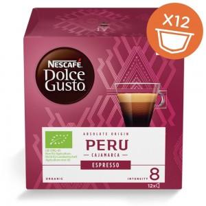 NESCAFE Dolce Gusto ORGANIC kafija Espresso Peru, 84g