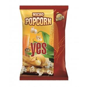 Y.E.S. popkorns ar sviesta garšu, 90g