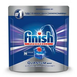 FINISH Quantum tabletes trauku mazgāšanas automātiem, 36gab