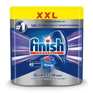 FINISH Quantum tabletes trauku mazgāšanas automātiem, 45gab