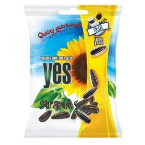 Y.E.S. grauzdētas saulespuķu sēklas ar sāli, 90g