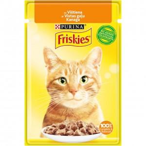 FRISKIES konservs kaķiem (vista) 85g