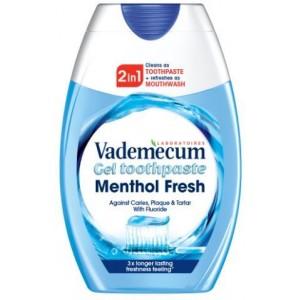 VADEMECUM zobu pasta 2in1 Menthol Fresh,75ml