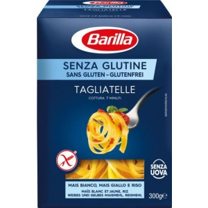 BARILLA TAGLIATELLE pasta, bez lipekļa, 300g