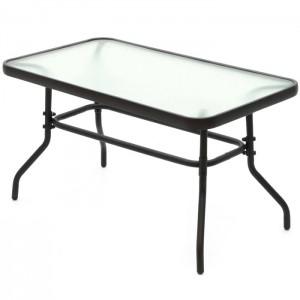 Dārza galds 4living Venetsia stikla 90x50x50cm