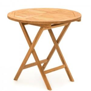 Dārza galds 4living Helen koka 80x80x75cm