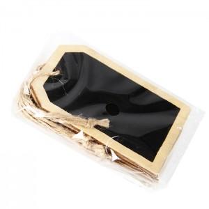 Kartiņa dāvanu maisiņam, koka 6gab