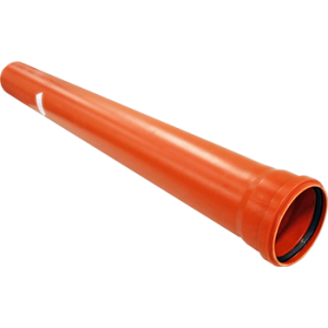 Caurule PVC 110X3000 SN4