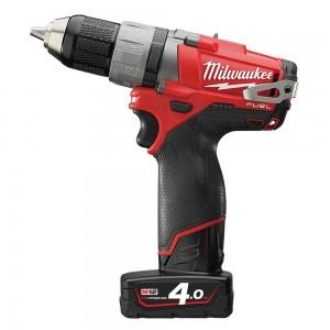 Milwaukee akumulatora skrūvmašīna / urbjmašīna M12 CDD-402 C