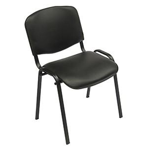 Krēsls ISO melns/dermantīns