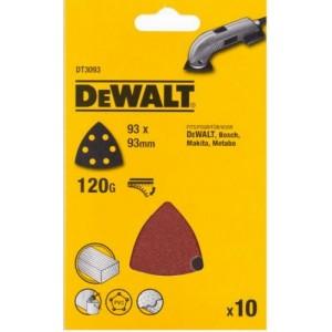 DeWALT Smilšpapīrs 10x120g