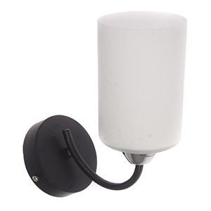 Sienas lampa-SARA 40W E14 melna/hroma