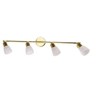 Spotlampa -SIMPLE 4x40W E14 zelta