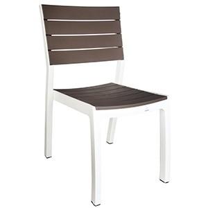 Krēsls Harmony, balts/kapučino