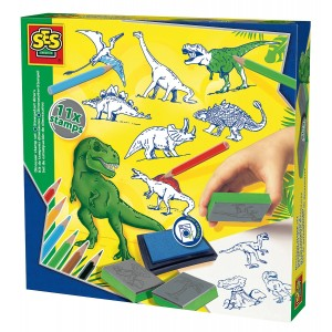 """SES Creative Radošais komplekts """"Dinozauri"""""""