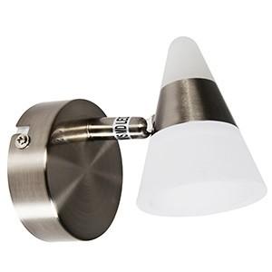 Spotlampa -TWICE 4W LED 3000K 320lm mat.niķeļa