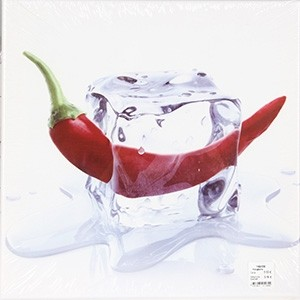 Fotoglezna uz audekla CHILLI ON ICE 35x35cm