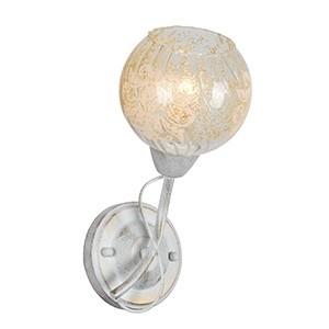 Sienas lampa-CRACLE 40W E14 krēma