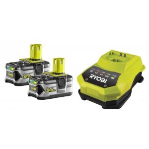 Ryobi akumulatoru un lādētāja komplekts RBC18LL50