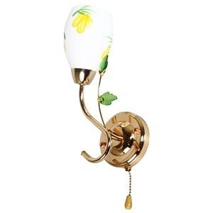 Sienas lampa-ULLA 40W E14 zelta