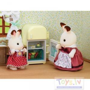 Sylvanian Families  Trušu māmiņa un ledusskapis