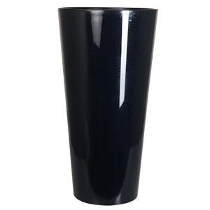 Puķu pods Tubus d40xh76.2cm melns