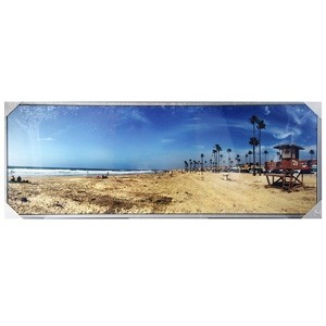 Fotoglezna ar rāmi HOLIDAY SAND 60x160cm