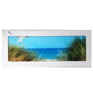 Stikla fotoglezna MOWE STRAND 50x125cm