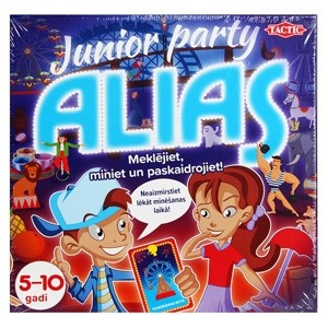 "TACTIC Spēle ""Party Alias Junior"" LAT"