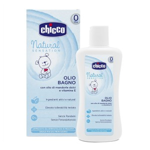 Chicco Natural Sensation Vannas eļļa, 200 ml
