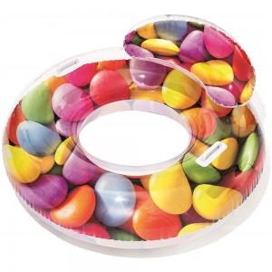 Peldrinķis ar atzveltni Candy 118x117cm