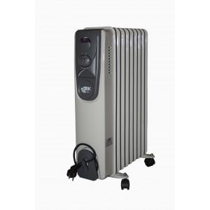 Eļļas radiators 9 sekcijas 2000W