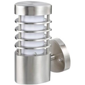 Āra apgaismojuma lampa sienas 11W E27 IP44 hroma