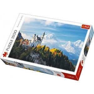 TREFL Puzle 1500 Bavārijas Alpi