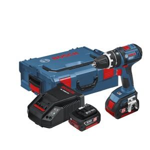 Akumulatoratriecienurbjmašīna Bosch .GSB 18 V-Li L-boxx
