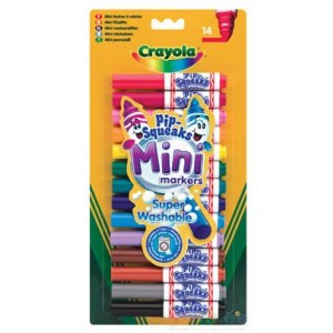 Crayola Izmazgājamie flomasteri,14 gab.
