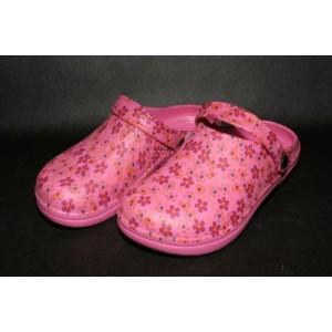 Sandales sieviešu 36 izmērs rozā ar rakstu