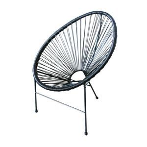 Krēsls 72x81x86 melns