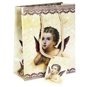 Dāvanu maisiņš Eņģelis 11x6x13,5cm