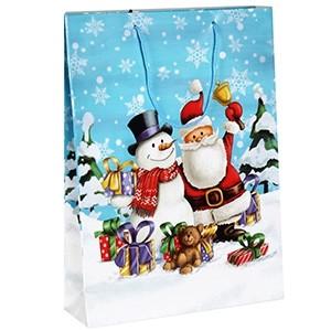 Dāvanu maisiņš Ziemassvētku 25x8,5x34,5cm