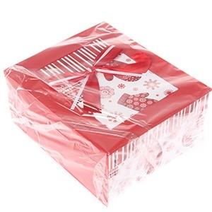 Dāvanu kaste ar kartiņu 2gab.