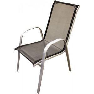 Krēsls metāla melna krāsa 54X70X95cm