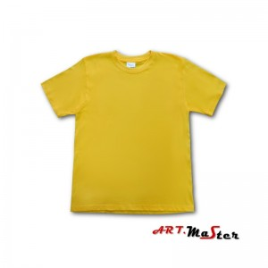 T-krekls kokvilna dzeltens M