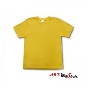 T-krekls kokvilna dzeltens XL