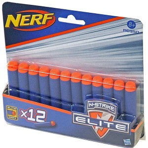 Nerf N-Strike Elite šautriņi, lodes 12 gb.