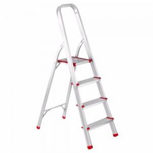 Kāpnes alumīnija 4 pakāpieni