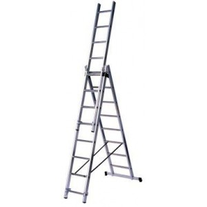 Multifunkcionālas kāpnes 3x09  pakāpieni