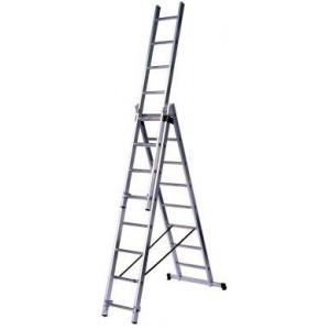Multifunkcionālas kāpnes 3x10  pakāpieni