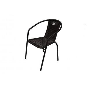Metāla, pīts krēsls 55x56x74cm