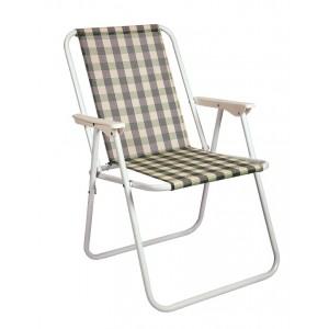 Kempinga krēsls, zaļš 53x44x75cm